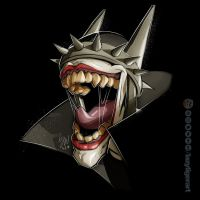 The Batman Who Laughs by lazytigerart