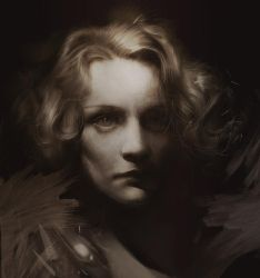 Marlene Dietrich by BellaBergolts