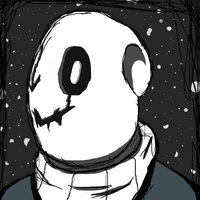 GASTER | SKETCH by iAbokai