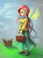 Fluttershy by Audrarius