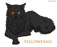 Yellowfang by Vialir