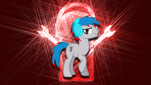 Living Tombstone Partical Trance Wallpaper by RDbrony16