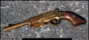 Captain Mal's Pistol from Firefly Variant Finished by JohnsonArmsProps