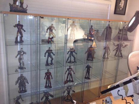 Wall O Hot Toys by TimTownsend
