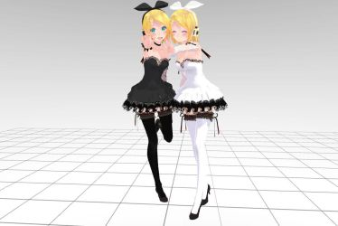MMD Tda Rin Crasy Download !! by InoriAruma