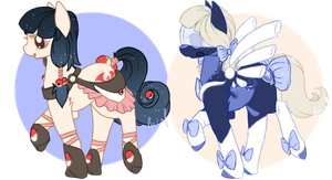 Pony adoptables - AUCTION - CLOSED by Fucal