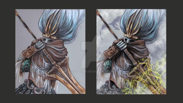 The Nameless King: Before and After by spelleria