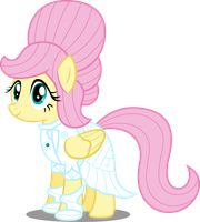 Ponies of the Future - Fluttershy by AtomicMillennial