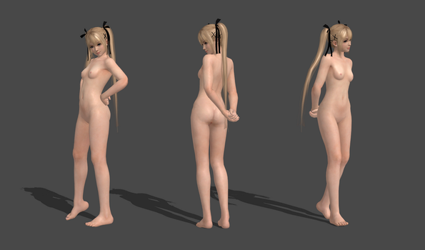 Marie Rose Complete Nude 100% by bstylez