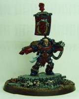 Chapter Master Pedro Kantor by cyphercodicer2
