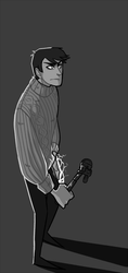 that dude in grandma sweater by mustachossom