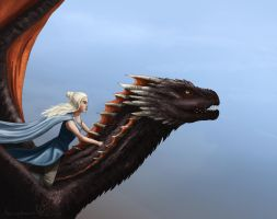 Queen of Dragons by Aerophoinix