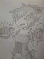 Barmaid by foresteronly