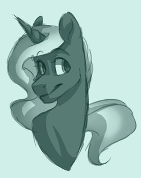 [ Patreon ] Fire Storm Sketch by EbonyTails