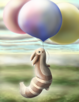 Fly-away Furret