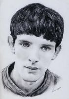 Colin Morgan (Merlin) by venikova