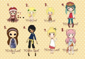 Adopt Giveaway 4 {CLOSED} by Minte-Leaf