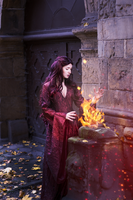 Red Lady Melisandre by silverwolfieofficial