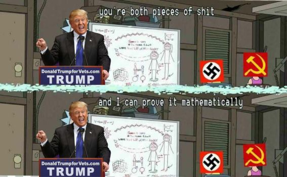 Donald Trump - You're Both Pieces of Shit by HNBBTF