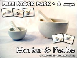 FREE STOCK, Mortar and Pestle by mmp-stock