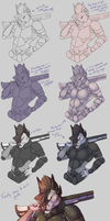 Archery Behind The Scenes: SHADING TUTORIAL! by Arch-Arts
