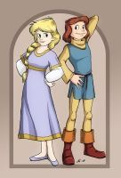 The Princess and the Squire by anla