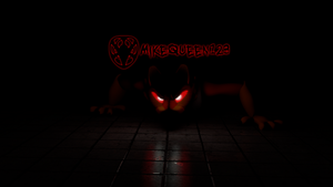 [Blender] Creeping in the Shadows by mikequeen123