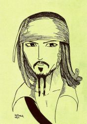 Jack Sparrow by MIRAGE-5X5