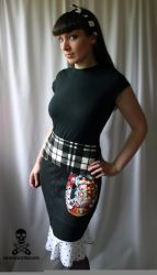 cowgirl skirt by smarmy-clothes