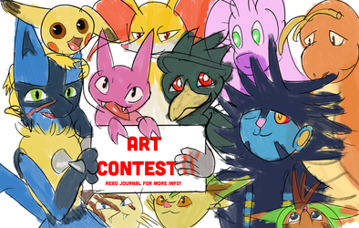 The Curious and the Shiny Art Contest! by StarlightCrux