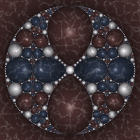 Kleinian Marble 74 by rosshilbert