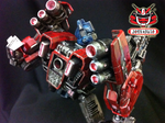 Transformers FOC : Optimus Prime Repaint 08 by wongjoe82