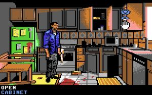 Walking Dead C64: Searching the Kitchen by NickBounty