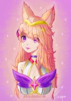 (League Of Legends) - Star Guardian Ahri by Phiryna