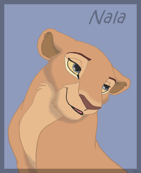 Pretty Nala by HydraCarina
