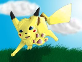 Pika-Leap by AnimeVSReality