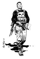 Frank Castle the Punisher by Paul-Moore