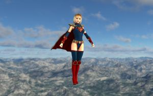 A New Supergirl by revpeng