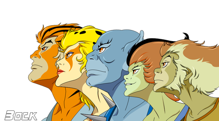 Thundercats  group Render by MikeBock