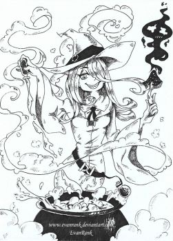 Inktober 2017 Day 3 - Poison (official) by EvanRank