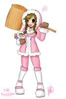 SSB project: Ice Climbers by anime-dragon-tamer