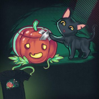 Pumpkin Patch - Shirt Design by merely-A