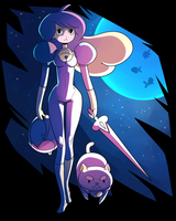 Bee and Puppycat by sambragg