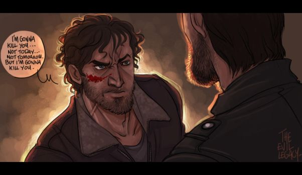 The Walking Dead - I'll kill you by the-evil-legacy