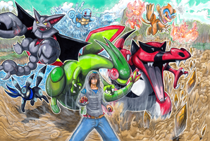 Commission: Pokemon Team