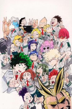 My Hero Academia by JasonW129