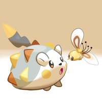 Togedemaru and Cutiefly