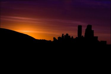 Corfe Silhouette by DaBeanz