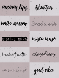 Fontpack01 by teamenti