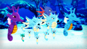 MMD PK Horsea Seadra and Kingdra DL by 2234083174